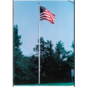 20' Large Outdoor Aluminum Flagpole