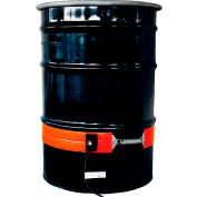 BriskHeat® Silicone Rubber Drum Heater For 55 Gallon Steel Drum, 50-425°F, 120V