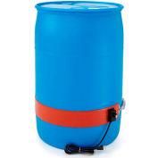 BriskHeat® Silicone Rubber Drum Heater For 55 Gallon Plastic Drum, 50-160°F, 120V