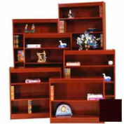 "Excalibur Bookcase 72"" H, Mahogany"