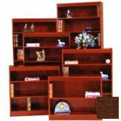 """Excalibur Bookcase 72"""" H, Walnut"""