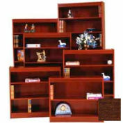 "Excalibur Bookcase 84"" H, Walnut"