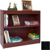 "30"" Laminate Bookcase, Charcoal Gray"