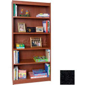 "84"" Laminate Bookcase, Charcoal Gray"