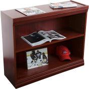 "Jefferson Traditional Bookcase 30"" H, Medium Cherry"