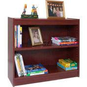 """30"""" Laminate Bookcase, Mahogany"""