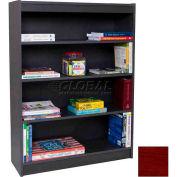 """60"""" Laminate Bookcase, Mahogany"""
