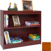 """36"""" Laminate Bookcase, Medium Oak"""