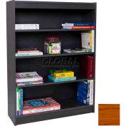 """60"""" Laminate Bookcase, Medium Oak"""