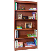 "72"" Laminate Bookcase, Cherry"