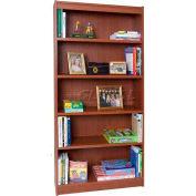 "72"" Laminate Bookcase, Cherry"