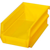 "Storability Bins 5-3/8""D x 4""W x 3""H Yellow (10 pc)"