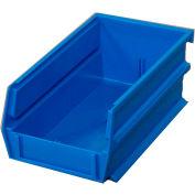 "Storability Bins 5-3/8""D x 4""W x 3""H Blue (10 pc)"