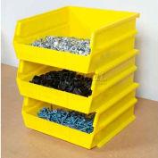 "Storability Bins 10-3/8""D x 10""W x 5""H Yellow (6 pc)"