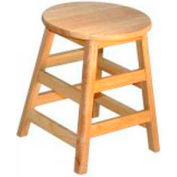 "18"" High Hardwood Stool"