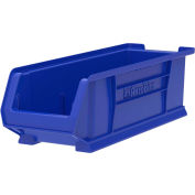 "Akro-Mils Super-Size AkroBin® 30284 - Stacking Bin 8-1/4""W x 23-7/8""D x 7""H Blue - Pkg Qty 4"
