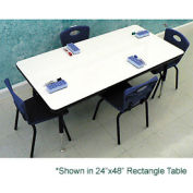 "MarkerBoard Activity Table 36"" X 36"" Square, Juvenile Adjustable Height"