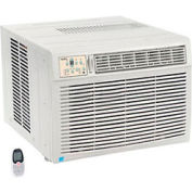Window Air Conditioner with Heat, 18,500 BTU Cool, 16,000 BTU Heat, 230/208V, Energy Star Rated