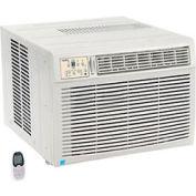 Window Air Conditioner with Heat, 18,500 BTU Cool, 16,000 BTU Heat, 230/208V