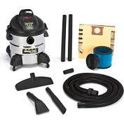 Shop-Vac® 8 Gallon Stainless Steel 5.5 Peak HP Wet Dry Vacuum - 5875110