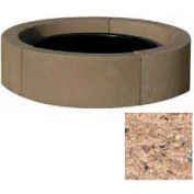 "44"" Dia. Concrete Fire Ring, Weather Stone Sand"