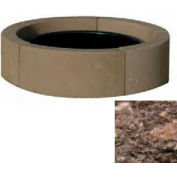 "44"" Dia. Concrete Fire Ring, Weather Stone Brown"
