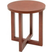 "21"" Round End Table - Cherry Finish"