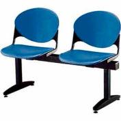KFI Beam Seating - 2 Navy Seats