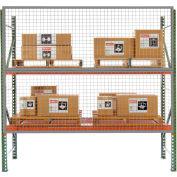 8' x 4' Wire Mesh Pallet Rack Guard