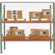 12' x 5' Wire Mesh Pallet Rack Guard
