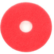 "13"" Red Buffing Pad - 5 Per Case"