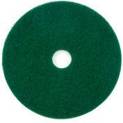 """20"""" Green Scrubbing Pad - 5 Per Case"""