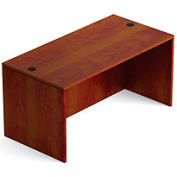 60 Inch Rectangular Desk Shell in Dark Cherry - Executive Modular Furniture