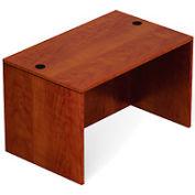 48 Inch Rectangular Desk Shell in Dark Cherry - Executive Modular Furniture