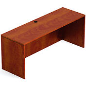 71 Inch Credenza Shell in Dark Cherry - Executive Modular Furniture