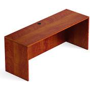 66 Inch Credenza Shell in Dark Cherry - Executive Modular Furniture