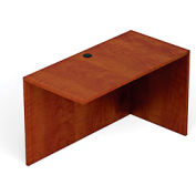 "Offices To Go™ Return Desk - 48""W x 24""D x 29-1/2""H - Dark Cherry"