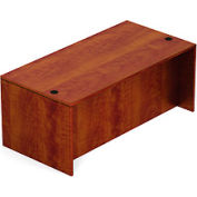 71 Inch Rectangular Desk Shell in Dark Cherry - Executive Modular Furniture