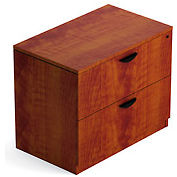 Offices To Go™ Two Drawer Lateral File in Dark Cherry - Executive Modular Furniture