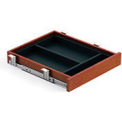 Offices To Go™ Center Drawer in Dark Cherry - Executive Modular Furniture