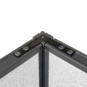 "90 Degree Corner Connector Kit For 76"" H Panel"