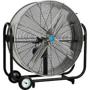 42 Inch Portable Tilt Drum Blower Fan - Belt Drive