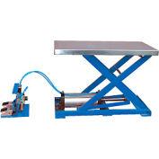 Vestil Light-Duty Pneumatic Scissor Lift Table AT-10 200 Lb. Capacity