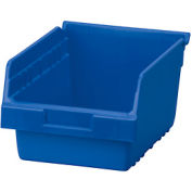"Akro-Mils ShelfMax® Plastic Shelf Bin Nestable 30080 - 8-3/8""W x 11-5/8""D x 6""H Blue - Pkg Qty 8"