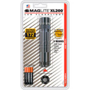 Maglite® XL200-S3096 XL200™ 3 Cell AAA LED Flashlight Gray