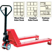 Vestil Wheel Nose Pallet Truck PM5-2038-WN 20 x 38 5000 Lb. Capacity