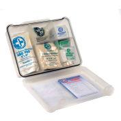 Multi-Purpose First Aid Kit, 120 Pieces, Plastic Case