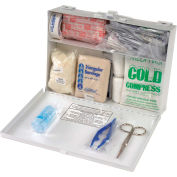 First Aid Kit 25-Person Metal Case