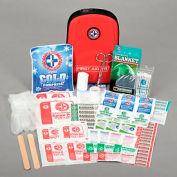 First Aid Kit - Auto Travel Kit, 88 Pieces