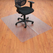 "Aleco® 46""W x 60""L Office Chair Mat for Hard Floor, Rectangular"